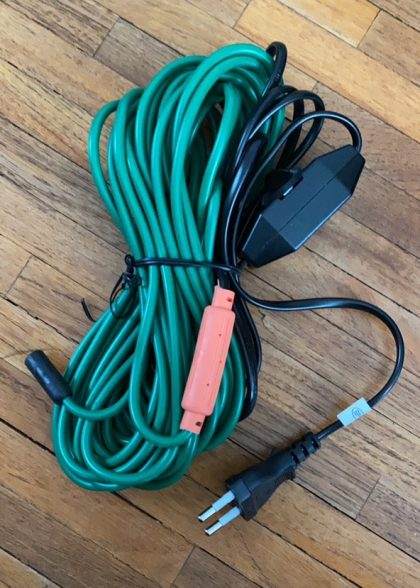 vyhrievaci kabel 8m