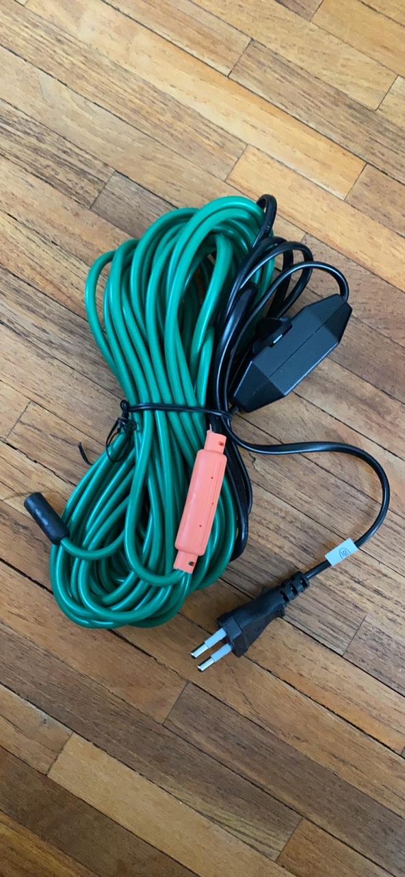 vyhrievaci kabel 12m
