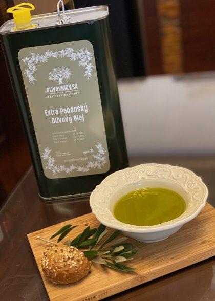 Domáci olivový olej